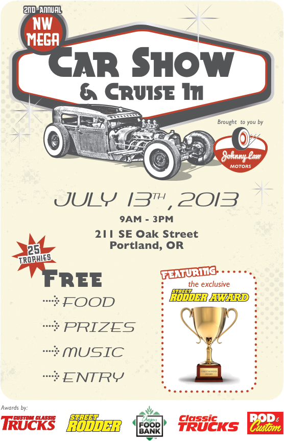 2nd Annual NW Mega Car Show & Cruise-In